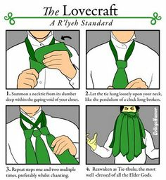 Learn to tie the Tie that should not be.