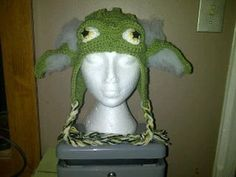 YODA Hat Crocheted in sizes from Newborn to Adult by juliannealm, $40.00