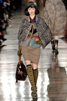 See the complete Vivienne Westwood Fall 2011 Ready-to-Wear collection.
