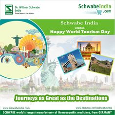 Happy World Tourism Day from Schwabe India.