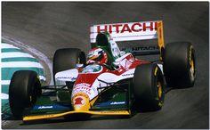Johnny Herbert Lotus 107B Ford F1 Brands Hatch 1993 Brands Hatch 1993