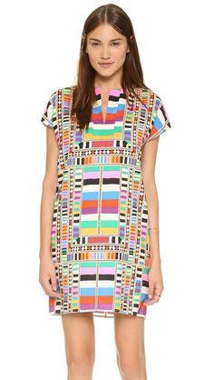 Tunic Dress http://picvpic.com/women-dresses/mara-hoffman-tunic-dress#Riser~Rainbow?ref=QA8LwA