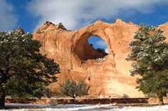 Window Rock .... New Mexico .. a sacred place for the Navaho