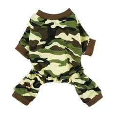 Fitwarm Stylish Army Green Camouflage Dog Shirts Jumpsuit for cat Cat Camo Clothes Apparel >>> You can get more details here : Cat sweater