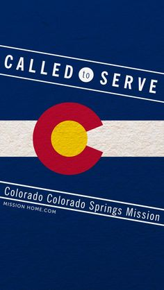 iPhone 5/4 Wallpaper. Called to Serve Colorado Colorado Springs Mission. Check MissionHome.com for more info about this mission. #Mission #Colorado #cellphone