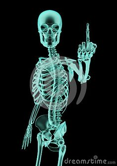 The finger x-ray by Grandeduc, via Dreamstime