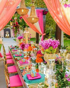 Bold and Bright Table Decor ideas Bold and bright festival wedding inspiration a style you can spot from miles away 9987874663 wedding inspo Cake Inspiration, Wedding Inspiration, Wedding Ideas, Wedding Quotes, Inspiration Candles, Budget Wedding, Wedding Card, Wedding Pictures, Wedding Favors
