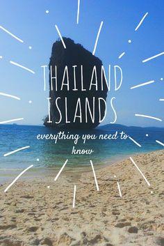 Koh Tao, Koh Phangan, Koh Samui, Koh Lanta, Koh Lipe, Koh Phi Phi, Railay, Krabi, Phuket, Koh Similan, Koh Jum: Thailand Island Guide what to do activities beach snorkelling #traveling #travelling #asia #beaches #islands #holiday #destinations #summer #beach #bikini #sand #sea #ocean #diving #elephants #islandhopping #inspiration #motivation #travel #explore #passport #tropical #beautiful #paradise #nature #wanderlust #view #blue #bucketlist