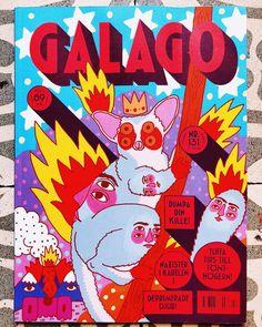 Cover art for @galago_forlag #ricardocavolo #animal #galago #medieval