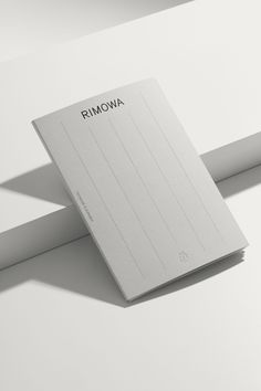Rimowa by Commission and Bureau Mirko Borsche — The Brand Identity