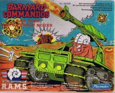 The Barnyard Commandos! I loved these toys as a kid.