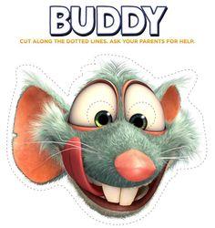 Un masque de Buddy pour nos enfants!