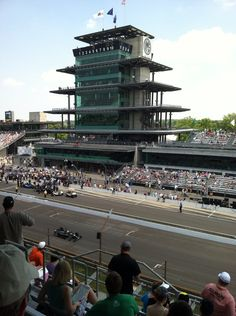 Indianapolis Motor Speedway my dad had worked there for 25 years and still working today