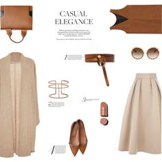 CASUAL ELEGANCE by canvas-moods on Polyvore featuring polyvore, мода, style, Rosetta Getty, Coast, Isa Arfen, Marni, APM Monaco, Chloé and Isabel Marant