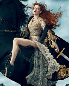 Florence Welch Florence and the Machine live in concert 2012 Ceremonials September Vogue 2012