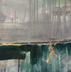 """Saatchi Art Artist Tracy Ostmann; Painting, """"Get A Line"""" #art"""