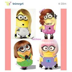 minions as celebrities | KPOP Minions | Kpopselca Forums