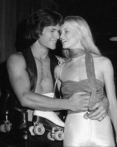 True love. Lisa Niemi & Patrick Swayze.