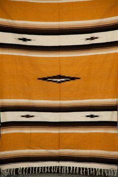 Diamond Blanket (mustard)