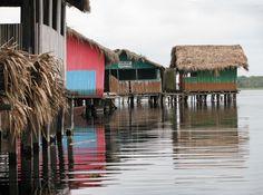 Nzulezu Village in Ghana the village on stilts.