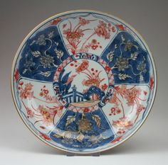 Large Antique 18thC Chinese Qing Kangxi Imari Porcelain Saucer Bowl or Dish | eBay