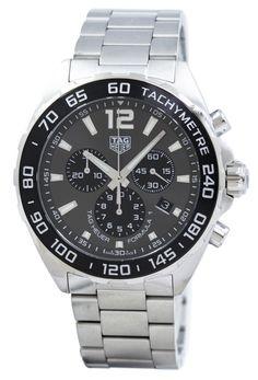 aa776aaef38 Tag Heuer Formula 1 Chronograph Quartz Tachymeter CAZ1011.BA0842 Gents   Watch