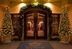 Christmas at the Washington Duke Inn.  If you haven't been there during the holidays, you need to go.