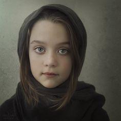 VIS-A-VIS Fine Art Portrait, using Brooke Shaden textures