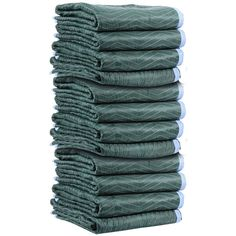 "Moving Blankets - MULTI MOVER 72""X80"" Grn/Lt Blue 75-80Lbs/DZ [MBMULTI75-12PK]"