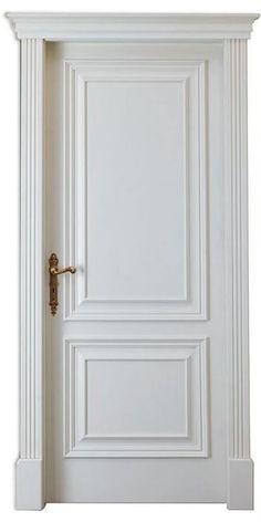 Green Bathroom Colors, Bathroom Color Schemes, Colour Schemes, Solid Interior Doors, Door Design Interior, Interior Walls, Hardwood Front Doors, Classic Doors, Door Molding