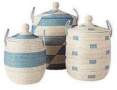 La Jolla Baskets - Blue