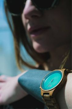 A watch with a special personality, just like you! The perfect gift for her! Exclusively made of natural wood, this is a watch she will simply adore! Perfect Gift For Her, Gifts For Her, Wooden Watch, Natural Wood, Women's Accessories, Personality, Watches, Stylish, Womens Fashion