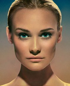 Markus + Indrani Photograph Famous Faces for Icons Book - Diane Kruger