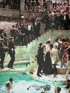 A good pool party... especially one thrown by Gatsby