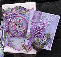 Lush Lilac collection will be available in 13 days - Heartfelt Creations