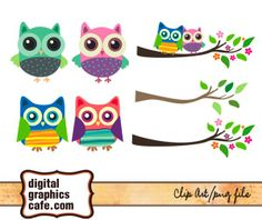 Free Graphics Owl clip art for scrapbooking, cardmaking