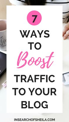 Are you a new blogger and don't know how to get traffic to your blog? Or you're struggling to find readers and grow your site? Here are a list of easy and fast ways to get more blog page views and grow your readership. For more blogging tips, head to insearchofsheila.com