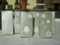 24 kleine Schachteln zum befüllen in silber....