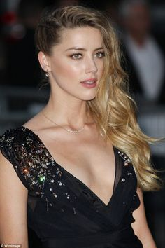 Understated elegance: The 29-year-old's make-up was typically flawless with a hint of bronzer and nude lip
