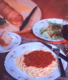 Vino Spiked Spaghetti recipe - Foodista.com #pasta #cookingwithredwine