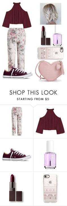 """Untitled #100"" by cristhina-a-dieguez-c on Polyvore featuring moda, Zimmermann, W118 by Walter Baker, Converse, Essie, Laura Mercier, Casetify, polyvorefashion, 100outfit y cristhinacreates"