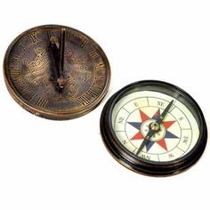 The antique original sundial round shaped compass made up of pure brass could be a beautiful addition to your drawing room. An exclusive show piece prepared by master artisans of Jaipur is sure to be admired by your guests. A perfect traditional gift for any occasion for your loved ones.http://handicrafts.exoticabazaar.com/view/7965-7-antique-stylish-real-brass-sun-dial-compass-239.html