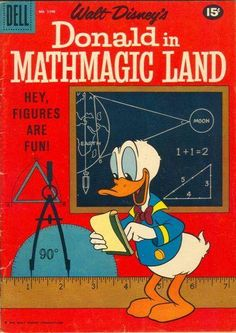 Really good old Disney cartoon about math. We used to love watching the part about billiards. Really interesting and fun!
