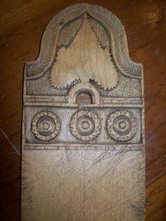 heart bread board