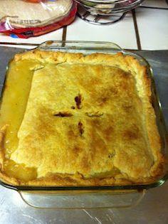 Homemade chicken pot pie!! DELISH! Homemade Chicken Pot Pie, No Bake Treats, Delish, Baking, Desserts, Food, Tailgate Desserts, Deserts, Bakken