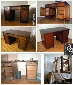 Eleganackie biurko w nowej odsłonie :)
