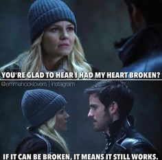 One of the most cutest thing Hook said to Emma. Once upon a time - Captain Hook - Colin O'donoghue - Killian Jones - Jennifer Morrison - Emma Swan – Captain Swan – OUAT Best Tv Shows, Best Shows Ever, Favorite Tv Shows, Favorite Quotes, Once Upon A Time, Between Two Worlds, Movie Quotes, Ouat Quotes, Heart Broken