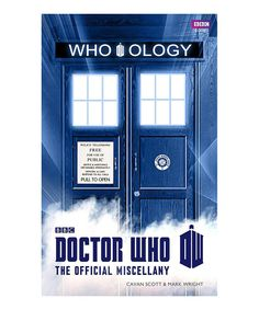 Look at this Doctor Who: Who-ology Hardcover on #zulily today!