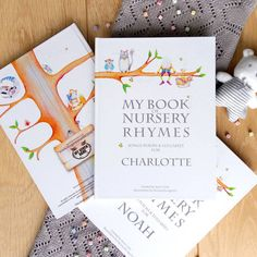 Are you interested in our Nursery Rhyme Book? With our Personalised Baby Book you need look no further.