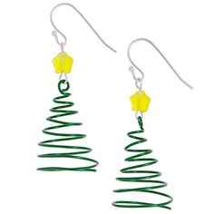 Spiral Into Christmas Earrings| Fusion Beads Inspiration Gallery